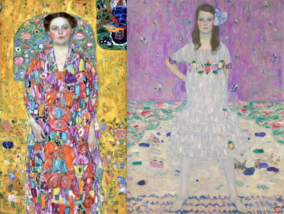 Gustav Klimt, Mäda Primavesi, Eugenia Primavesi, secesja, sztuka austriacka, Niezła Sztuka