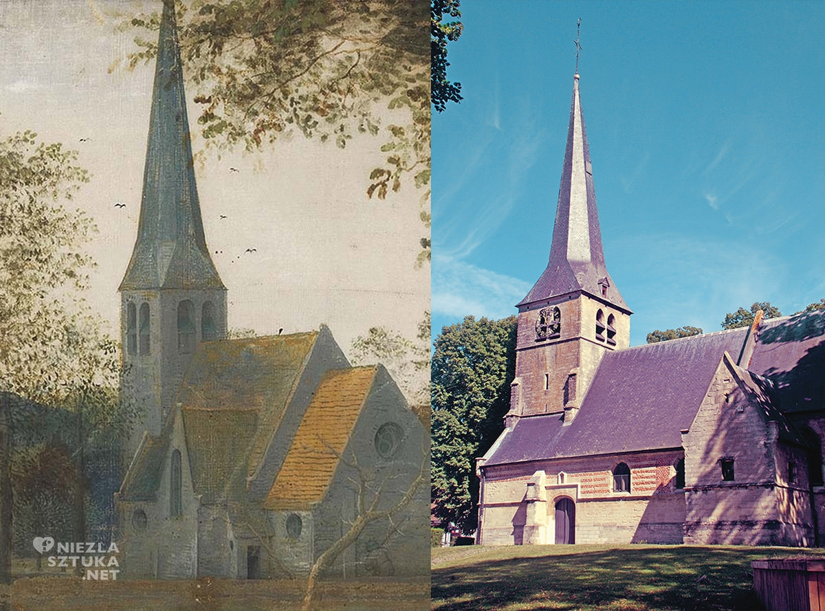 Kościół, Sint-Anna-Pede, Kościół św. Anny, Bruegel, Niezła sztuka