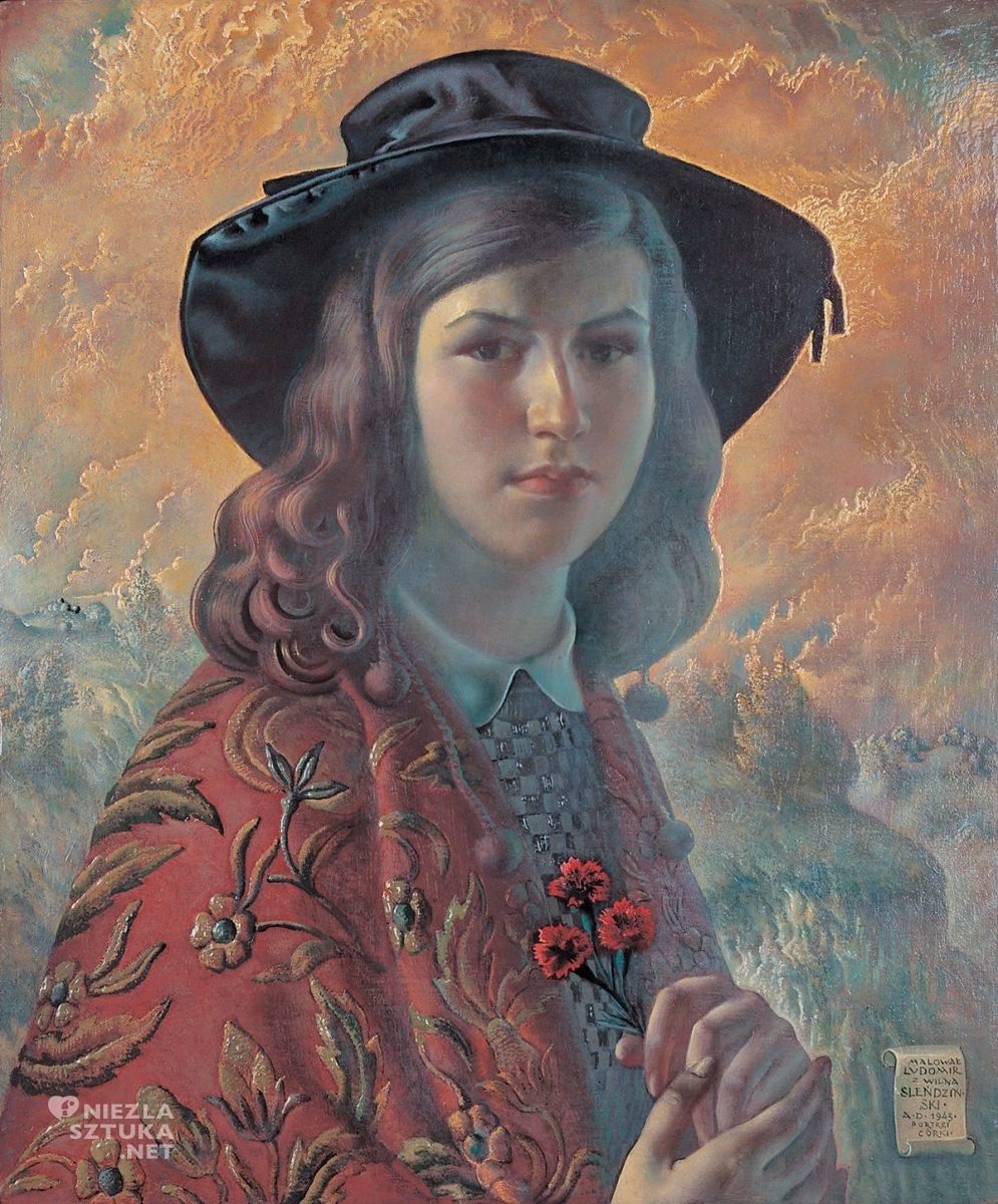 Ludomir Sleńdziński, Portret córki, Julitta Sleńdzińska, niezła sztuka