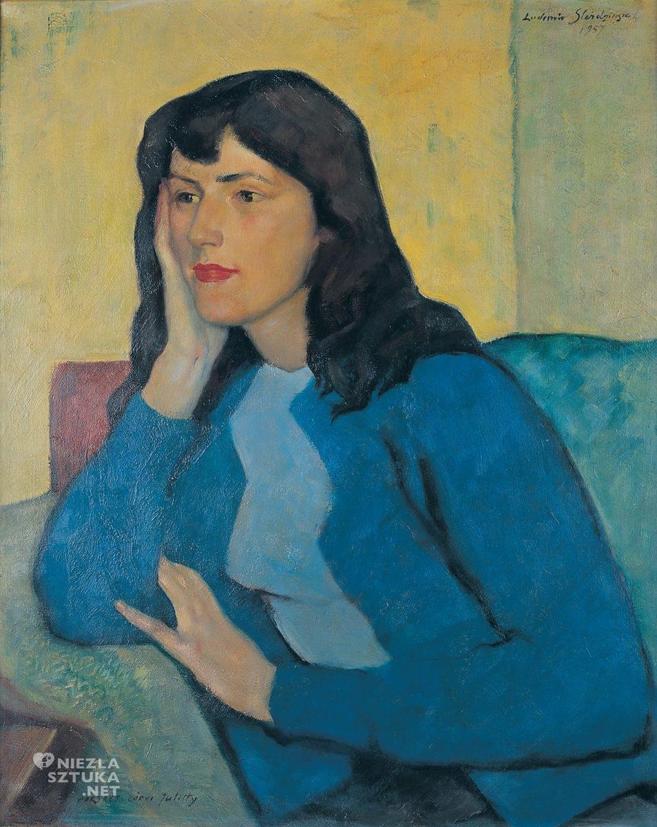 Ludomir Sleńdziński, Portret córki Julitty, Julitta Ślendzińska, Galeria Slendzińskich, Niezła sztuka