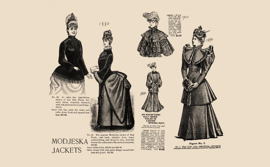 Modjeska jacket, helena modrzejewska moda, niezła sztuka