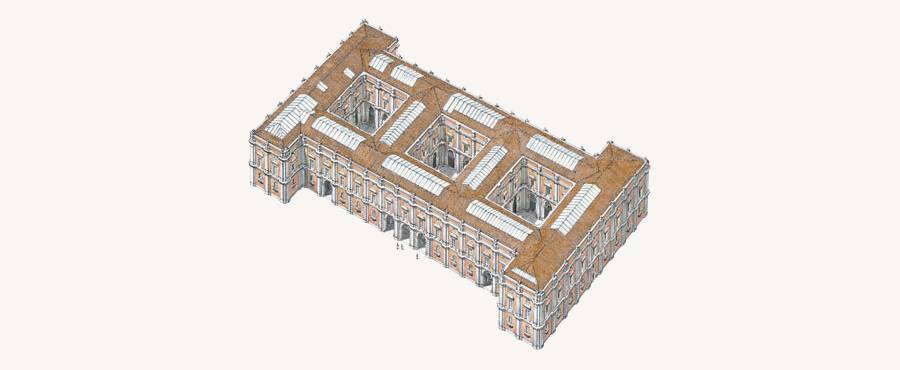 Włochy, Museo di Capodimonte, Neapol, muzeum, plan, budynek. niezła sztuka