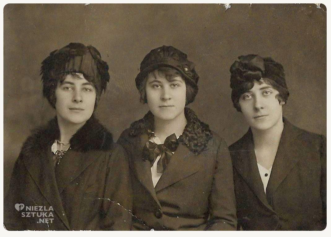 Irena Weiss, siostry, rodzina Silbeberg, Wiedeń, rodzeństwo, fotografia, Niezła Sztuka
