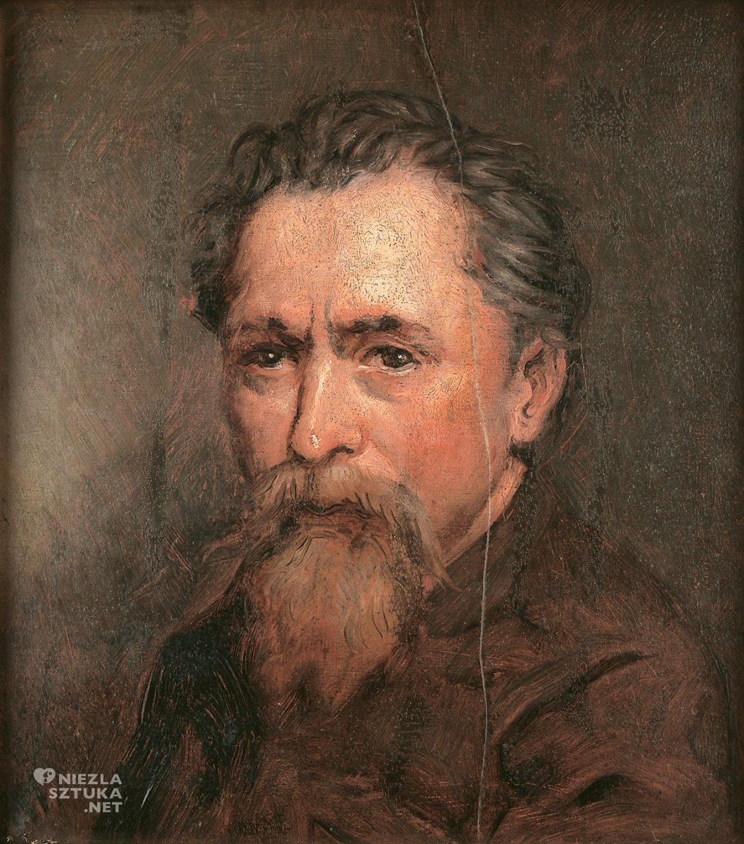 Wincenty Sleńdziński, autoportret, niezła sztuka