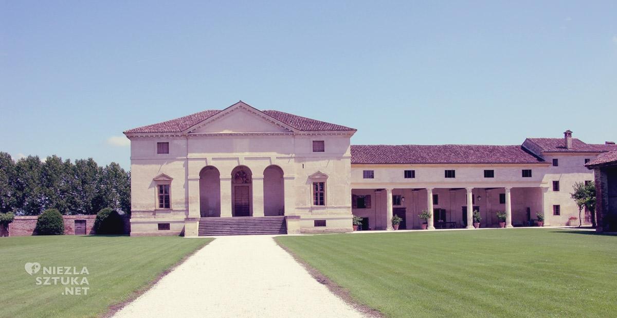 Finale d'Agugliaro, Willa Saraceno, architektura, Niezła sztuka