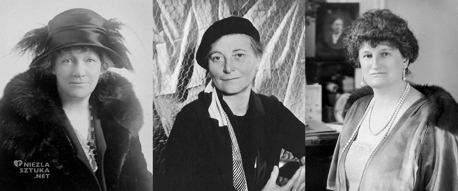 Liliie P. Bliss, Mary Quinn Sulivann, Abby Aldrich Rockefeller, kobiety w sztuce, Niezła Sztuka