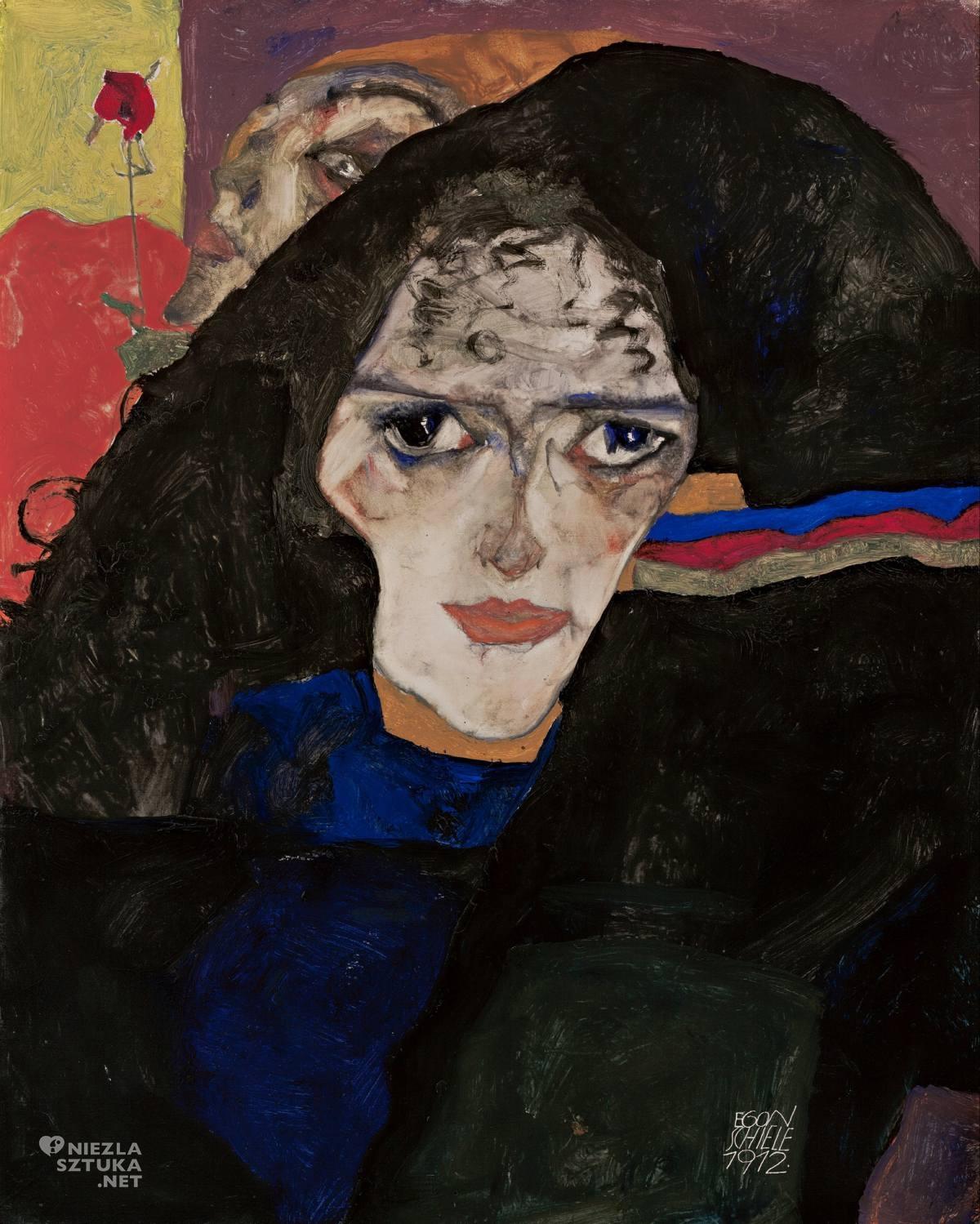 Egon Schiele, Kobieta w żałobie, Wally Neuzil, Austria, Niezła Sztuka