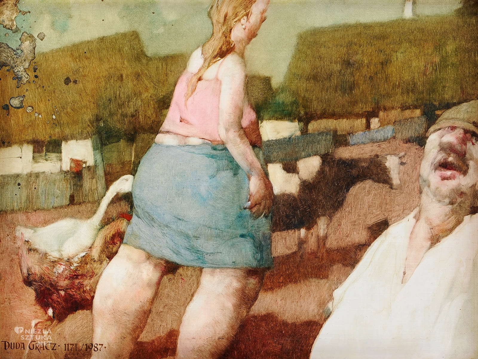 Jerzy Duda-Gracz, Obraz 1171. Visites Kamion, sztuka współczesna, sztuka polska, Niezła Sztuka
