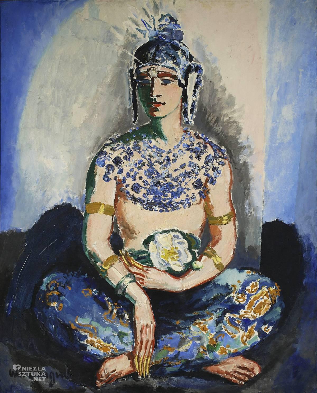 Kees van Dongen, Portret Antoniego Cierplikowskiego, malarstwo europejskie, orient, malarstwo francuskie, Niezła Sztuka
