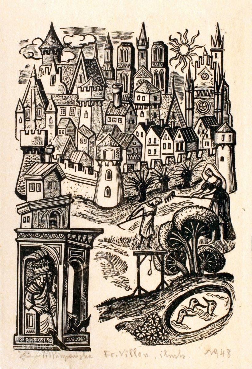 Maria Hiszpańska-Neumann, ilustracje, książki, grafika, Niezła sztuka