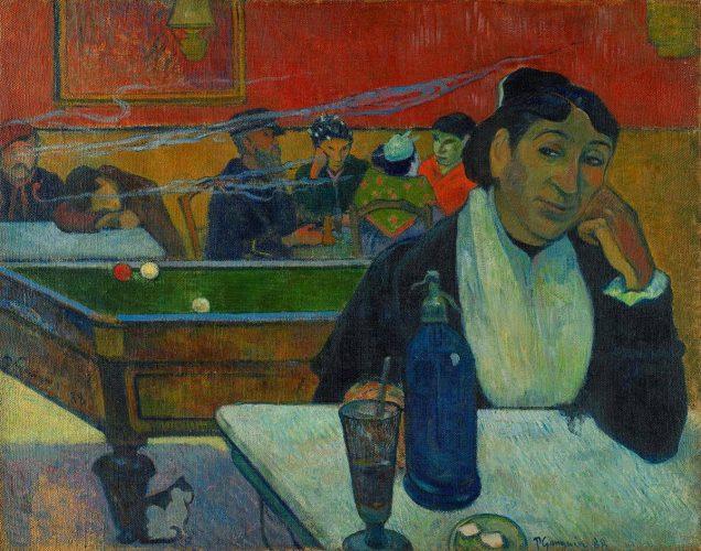 Paul Gauguin, Kawiarnia w Arles, sztuka francuska, Arles, Niezła Sztuka