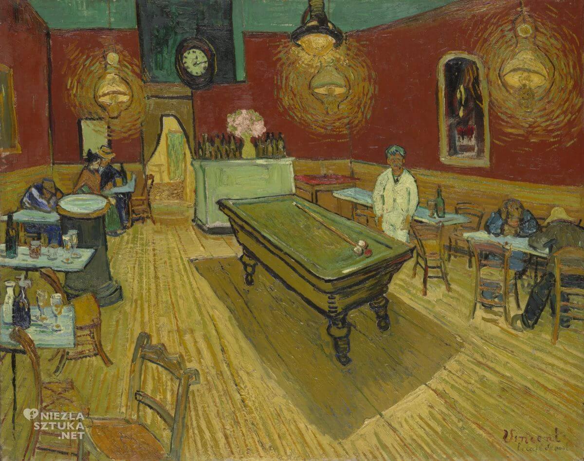 Vincent van Gogh, Nocna kawiarnia, Niezła Sztuka