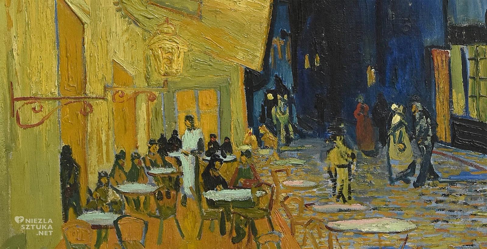 Vincent van Gogh, Taras kawiarni w nocy, Arles, Niezła sztuka