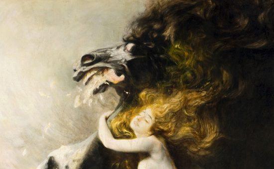 Władysław Podkowiński, Szał uniesień, sztuka polska, malarstwo XIX-wieczne, malarstwo polskie, Niezła Sztuka