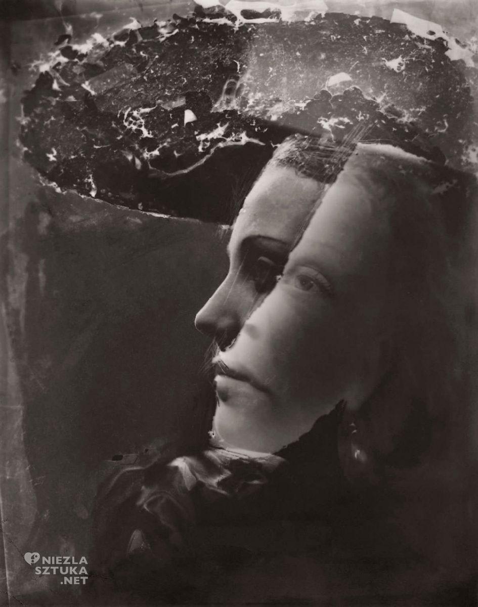 Dora Maar, Podwójny portret z kapeluszem, fotografia, sztuka współczesna, kobiety w sztuce, Niezła Sztuka