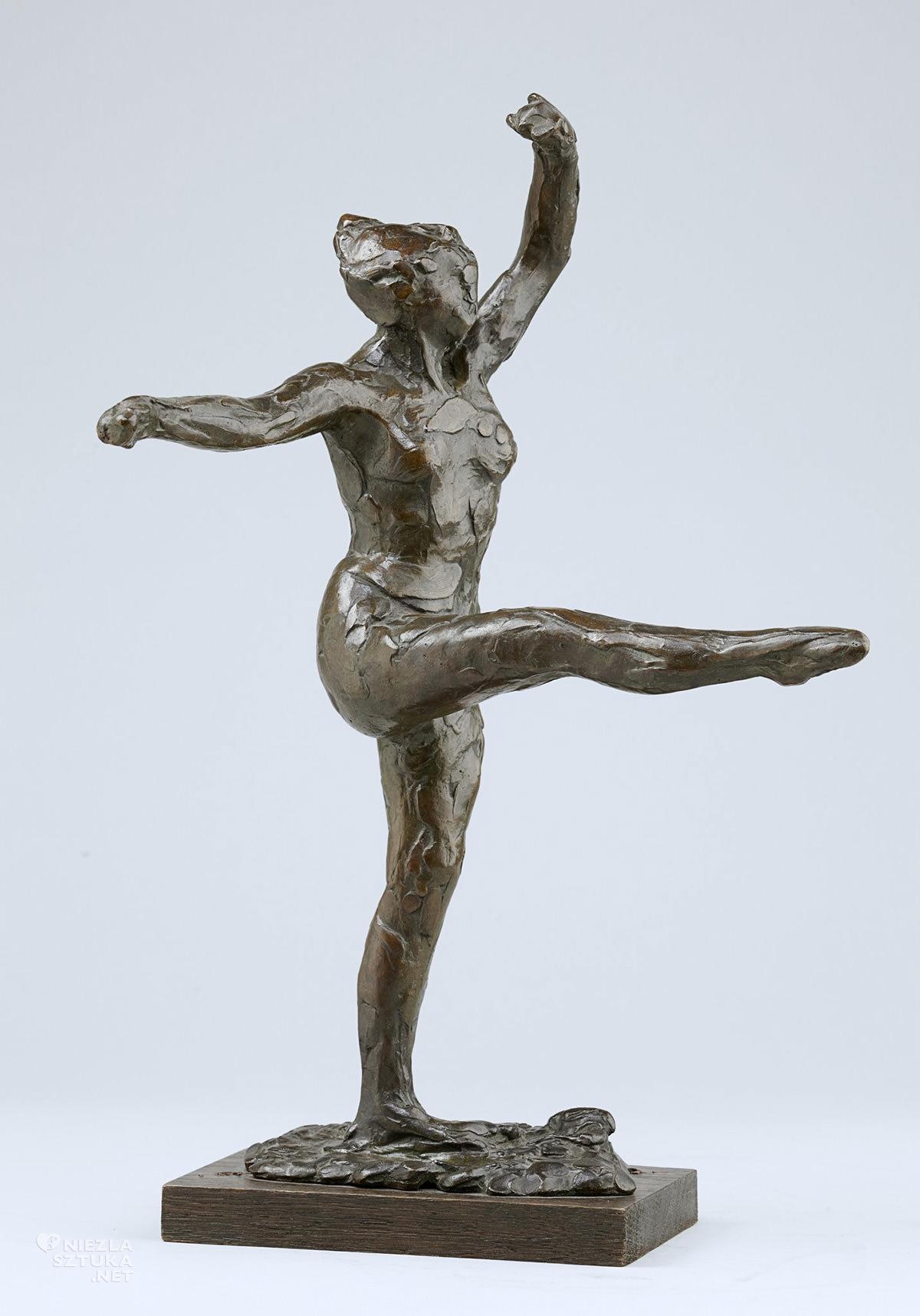Edgar Degas, tancerka, rzeźba, sztuka francuska, Niezła sztuka