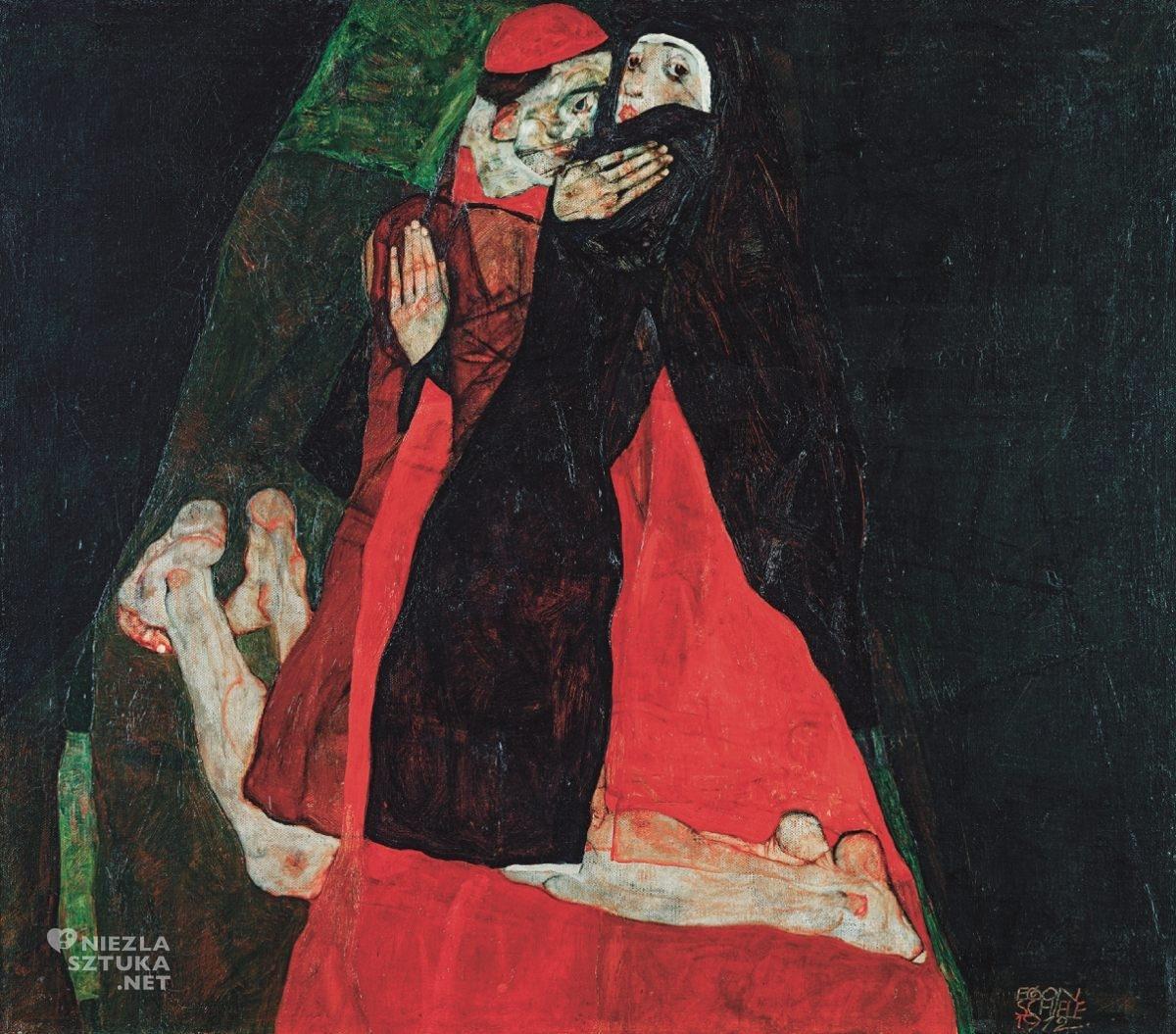 Egon Schiele, Kardynał i zakonnica, Leopold Museum, Wiedeń, Niezła sztuka