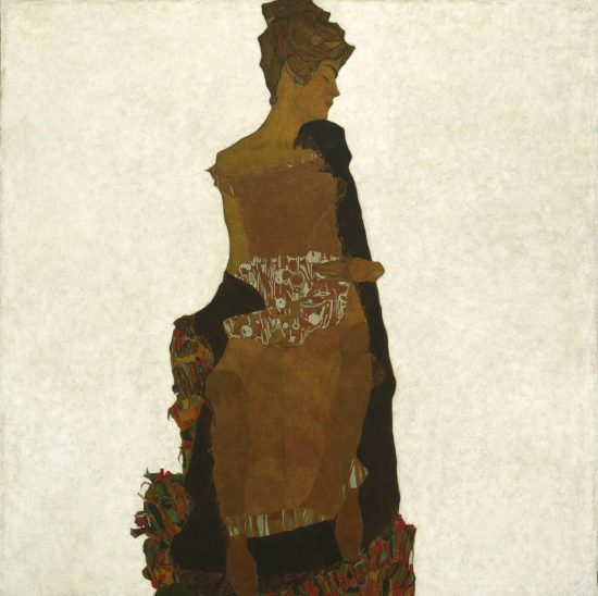 Egon Schiele, Portret Gerti, Gerti Schiele, siostra Schiele, sztuka austriacka, Niezła Sztuka