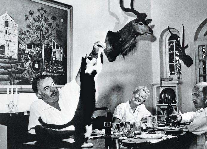 Hemingway, Miró, obraz, niezła sztuka
