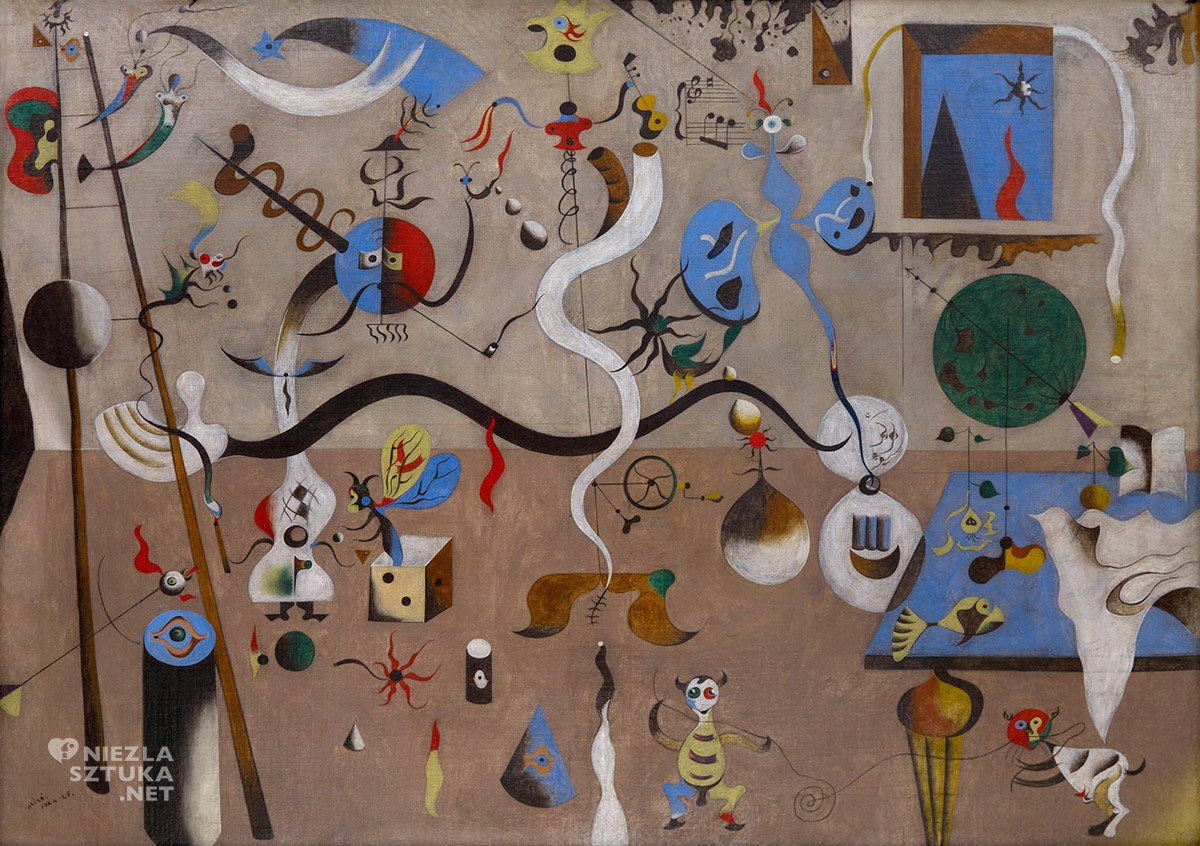 Joan Miró, Karnawał Arlekina, niezła sztuka