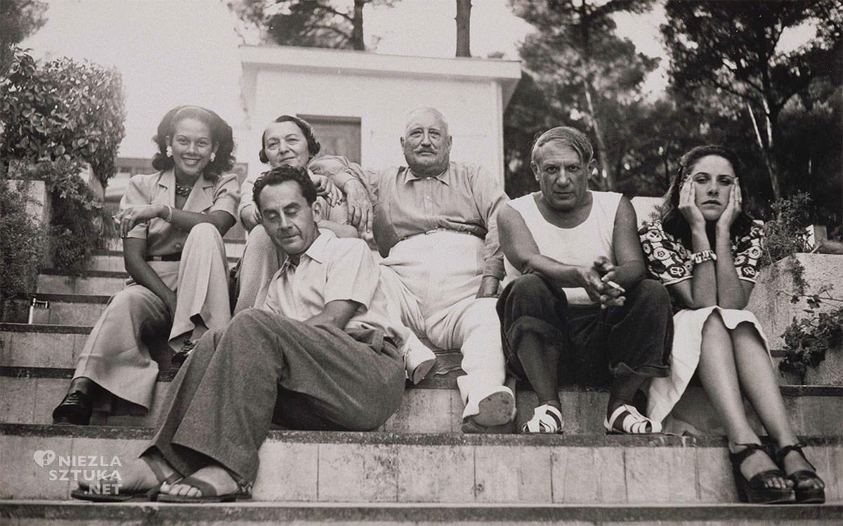 Pablo Picasso, Dora Maar, Man Ray, fotografia, Niezła Sztuka