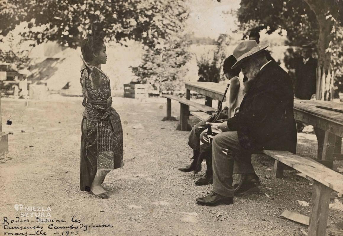 Auguste Rodin, sztuka francuska, Niezła sztuka