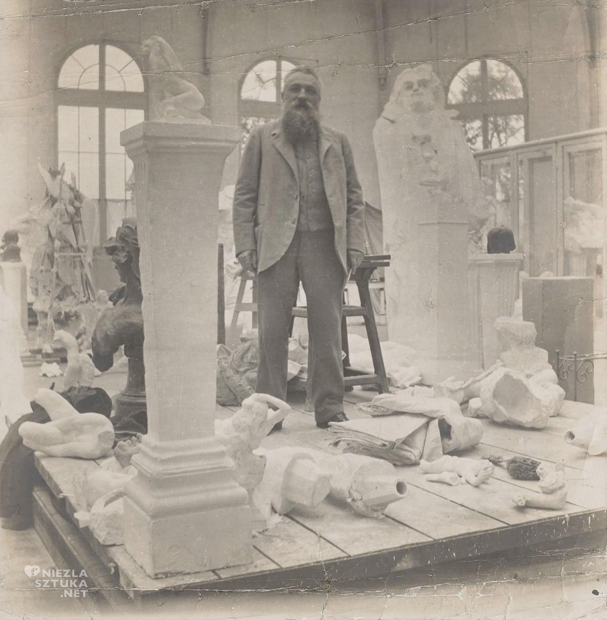 Auguste Rodin, rzeźba, pomnik Balzak, niezła sztuka