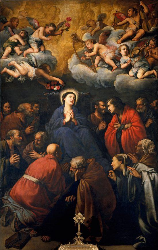 Carlo Saraneci, Śmierć Marii, sztuka religijna, barok, sztuka włoska, Niezła Sztuka