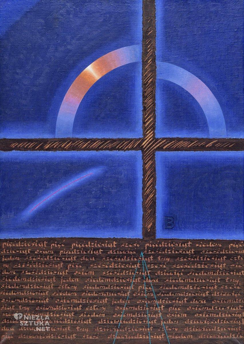 Józef Sowada, Wariacje na temat krzyża B. Brama czasu, niezła sztuka