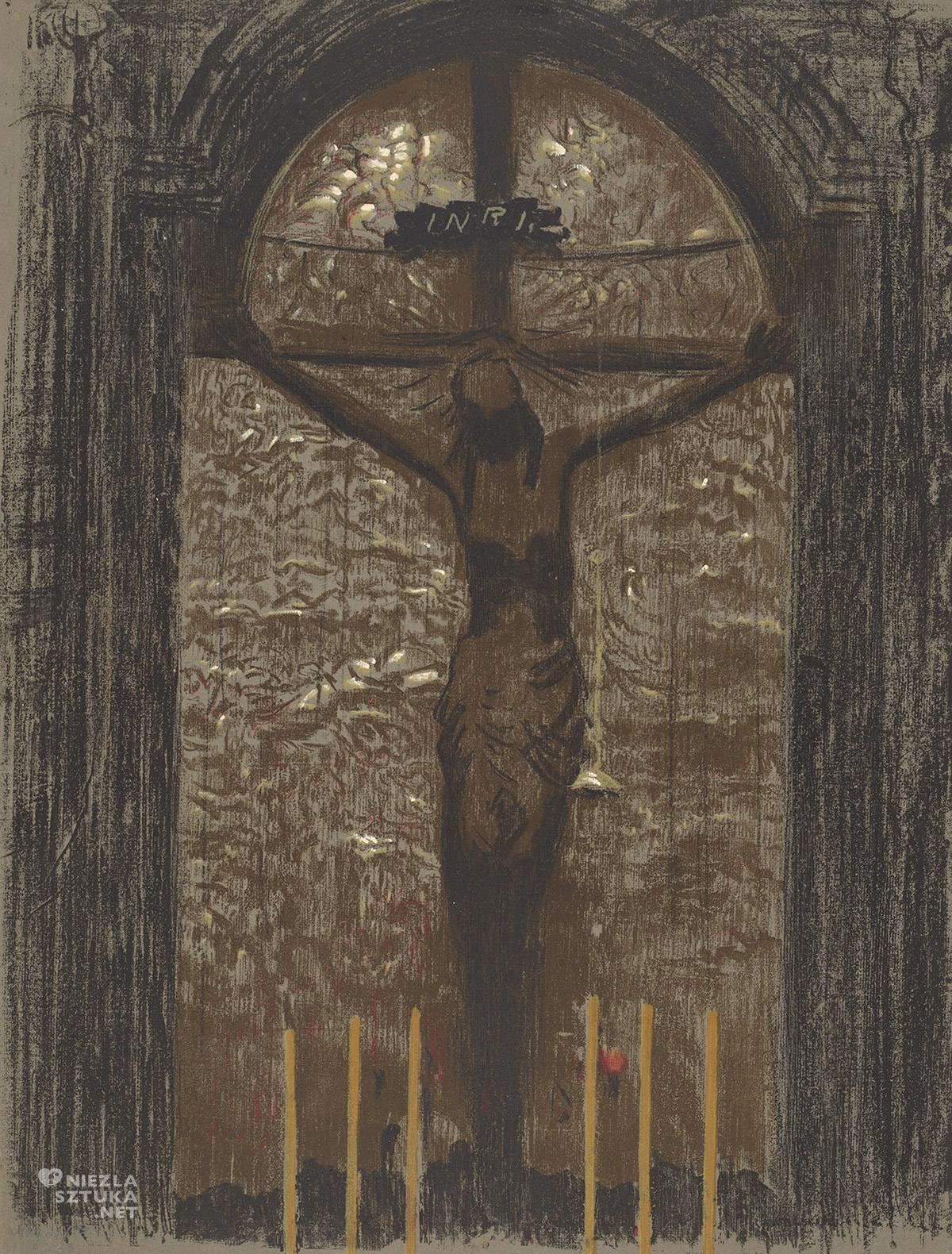 Leon Wyczółkowski, Chrystus, sztuka religijna, sztuka polska, Niezła Sztuka