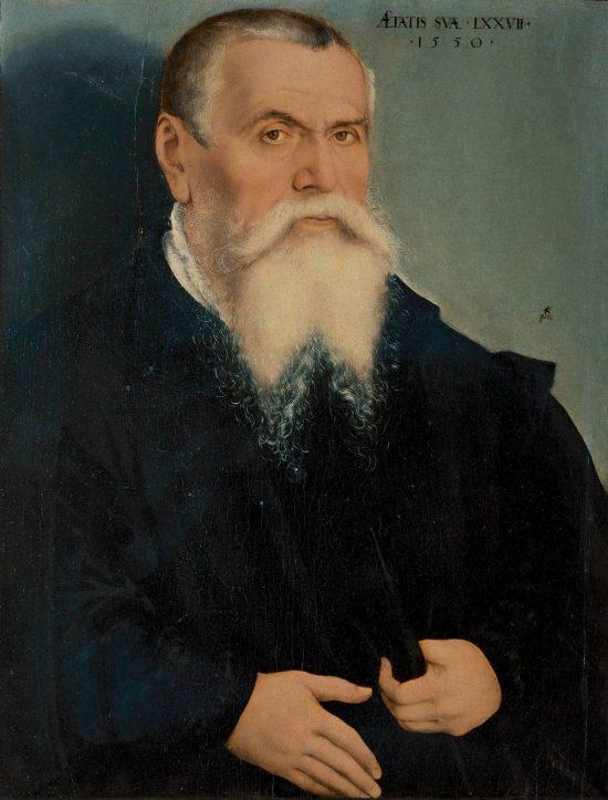 Lucas Cranach Starszy, Autoportret, portret, reformacja, Niezła sztuka