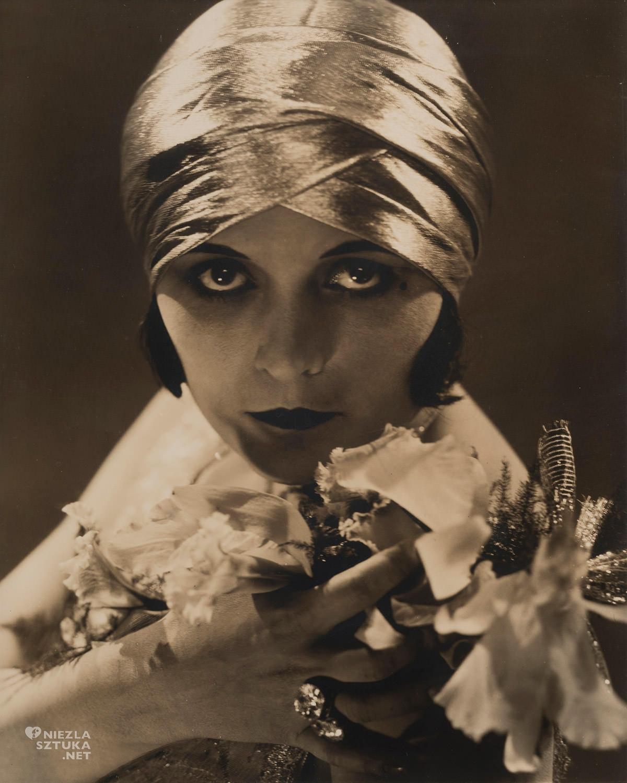 Pola Negri, Edward Steichen, fotografia, Hollywood, kino, aktorka, Niezła Sztuka