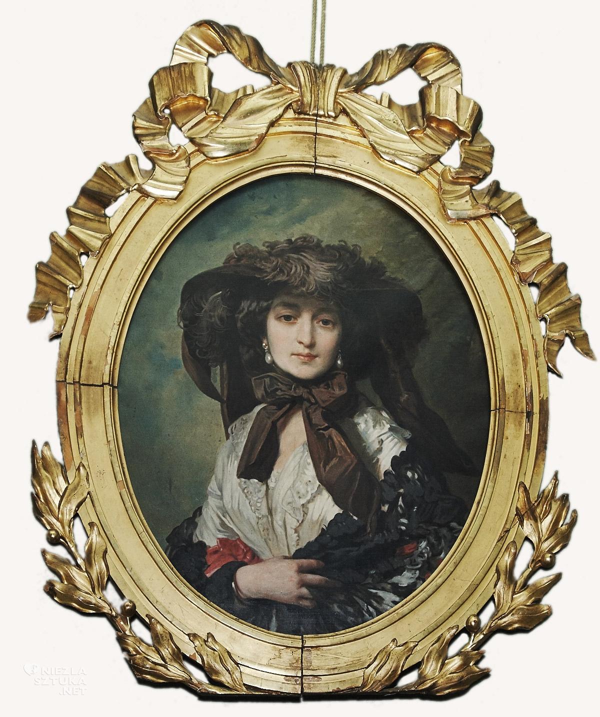 Franz Winterhalter, Katarzyna z Branickich Potocka, niezła sztuka