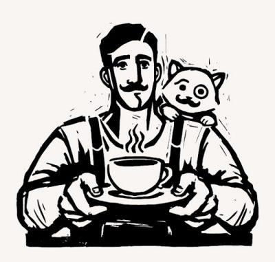 U kawiarza, Niezła sztuka, kawa, produkt na fundację