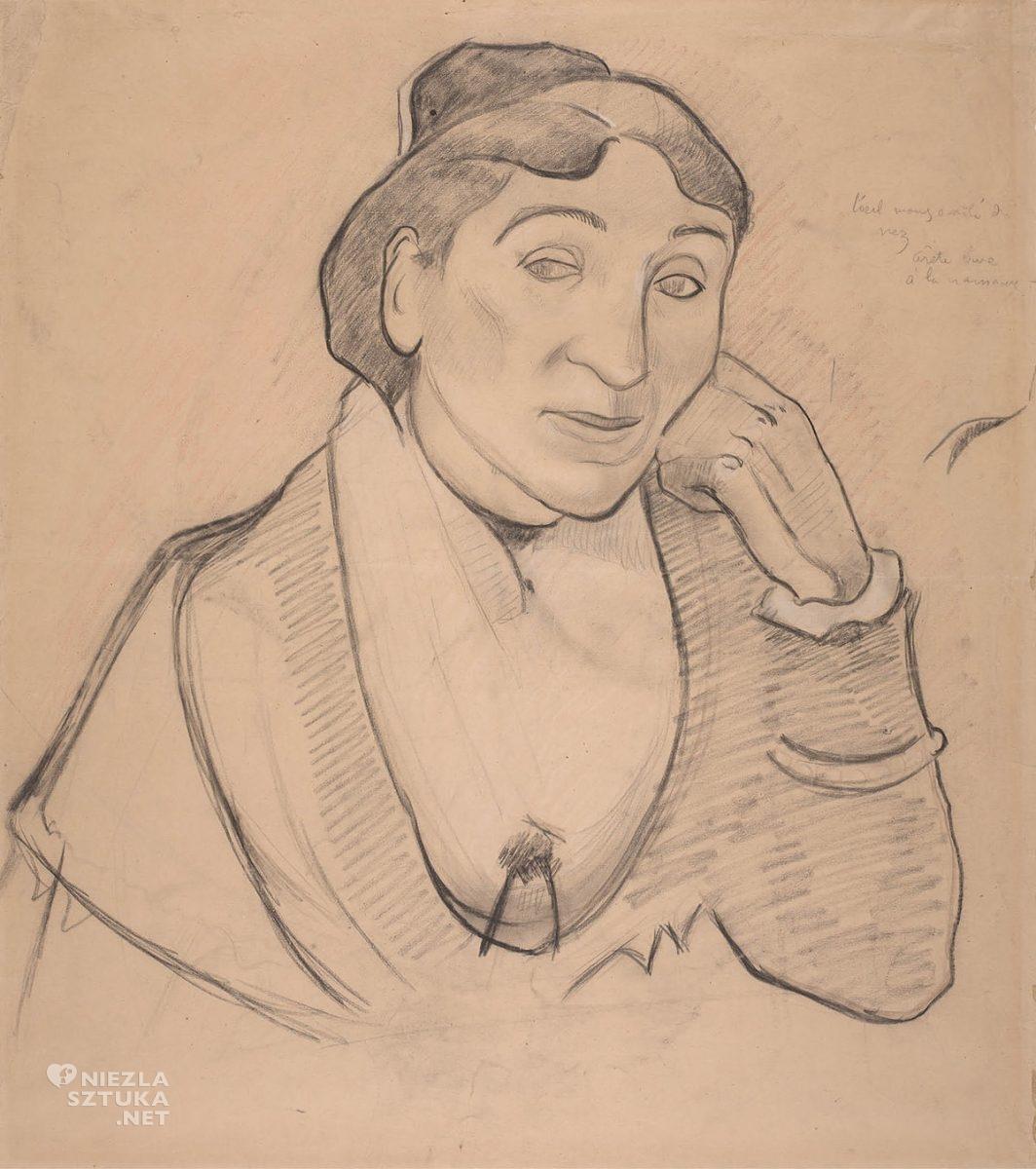 Paul Gauguin, Arlezjanka. Pani Ginoux, Kobieta z Arles, Vincent van Gogh, Niezła Sztuka
