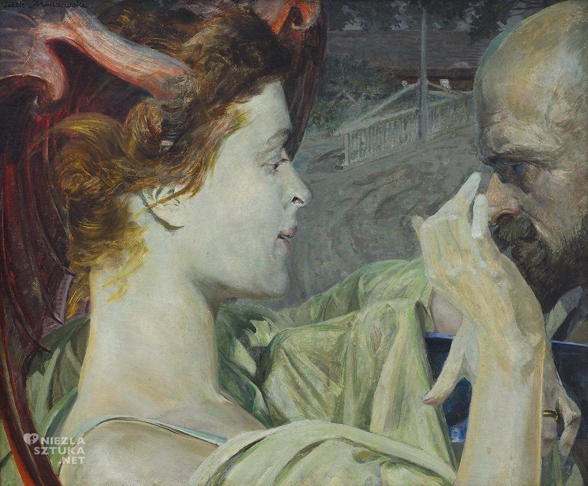 Jacek Malczewski, Thanatos, sztuka polska, niezła sztuka