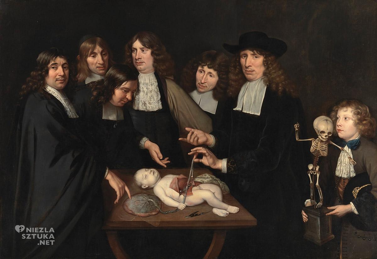 Jan van Neck, Lekcja anatomii Frederika Ruyscha, niezła sztuka