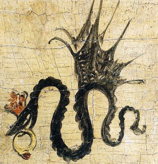 Lucas Cranach, warsztat, herb, symbol, niezła sztuka