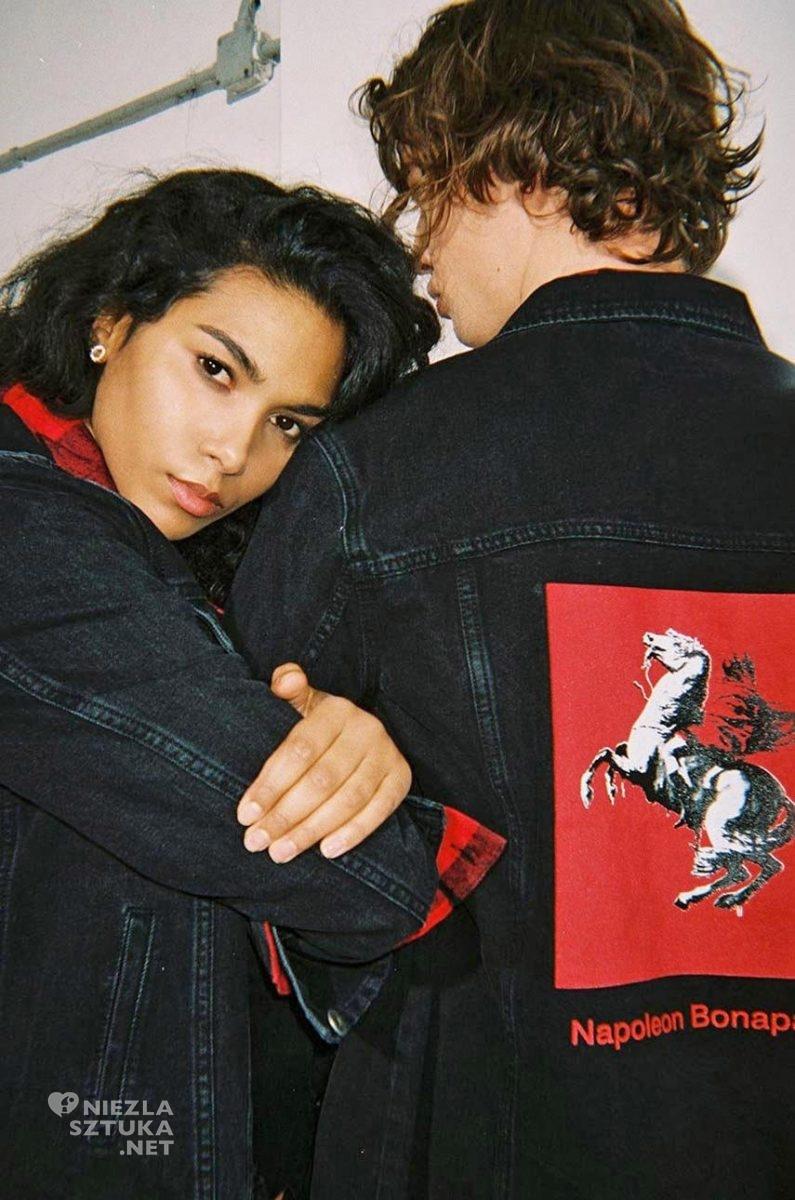 Banksy, street art, kolekcja Banksy's Graffiti, Medicine Eviva l'arte, kolekcja ubrań, moda i sztuka, niezła sztuka