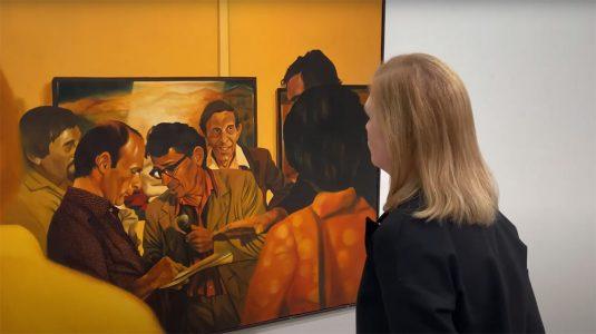 Miejska Galeria Sztuki w Łodzi, o kolekcji subiektywnie, Andrzej Adam Sadowski, niezła sztuka