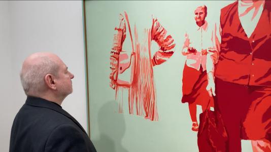 Miejska Galeria Sztuki w Łodzi, o kolekcji subiektywnie, Jan Świtka, niezła sztuka