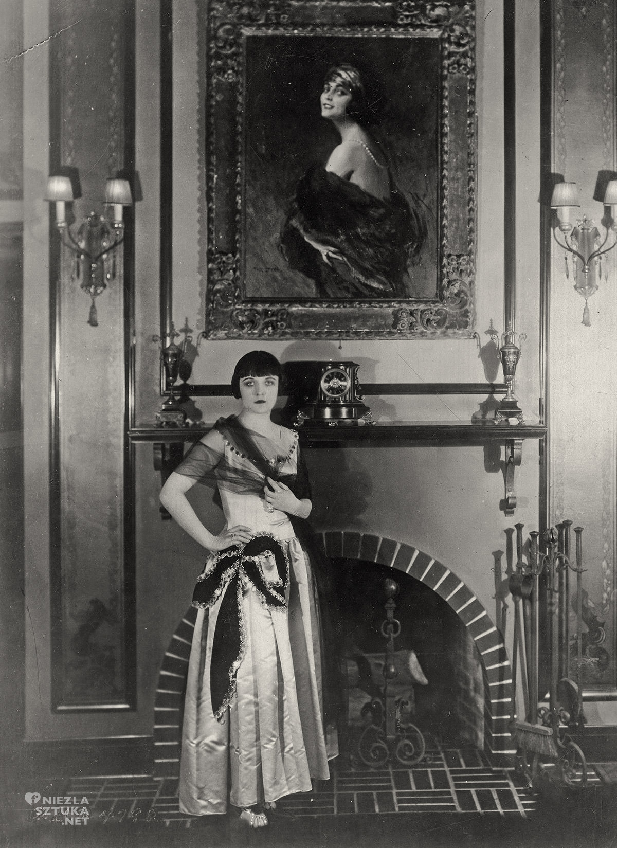 Pola Negri, Tadeusz Styka, portret Poli Negri, aktorka, kino, Niezła Sztuka