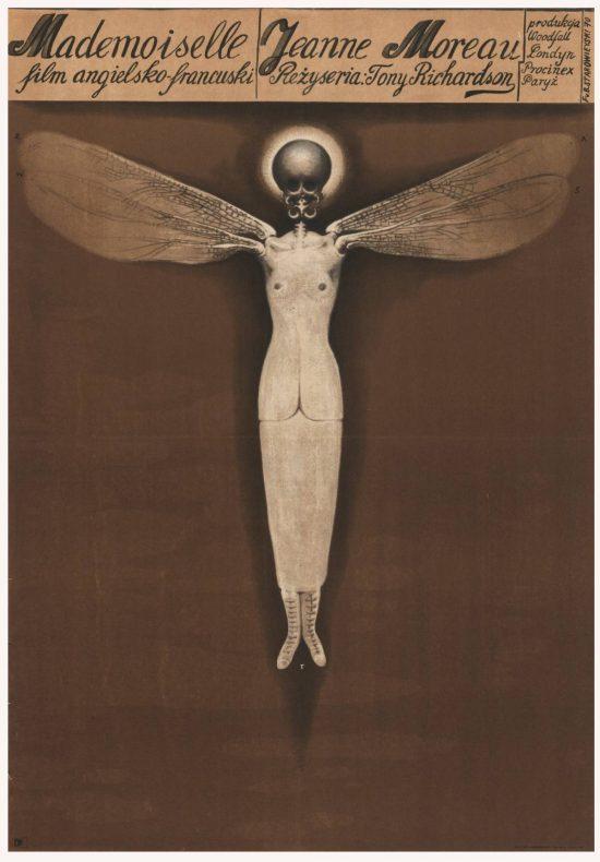 Franciszek Starowieyski, mademoiselle, poster, plakat, teatr, niezła sztuka