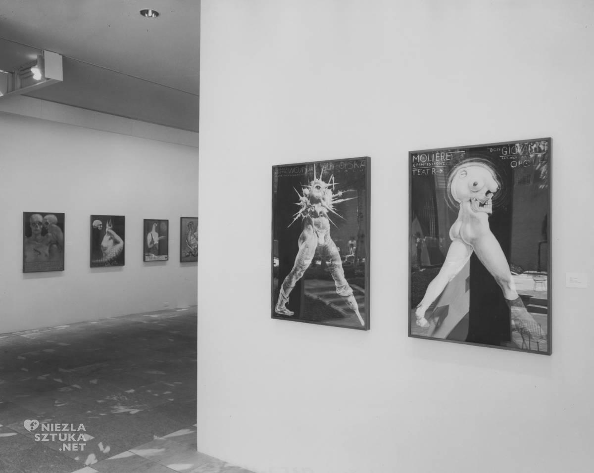 Franciszek Starowieyski Indywidualna wystawa MoMA, plakaty, niezła sztuka
