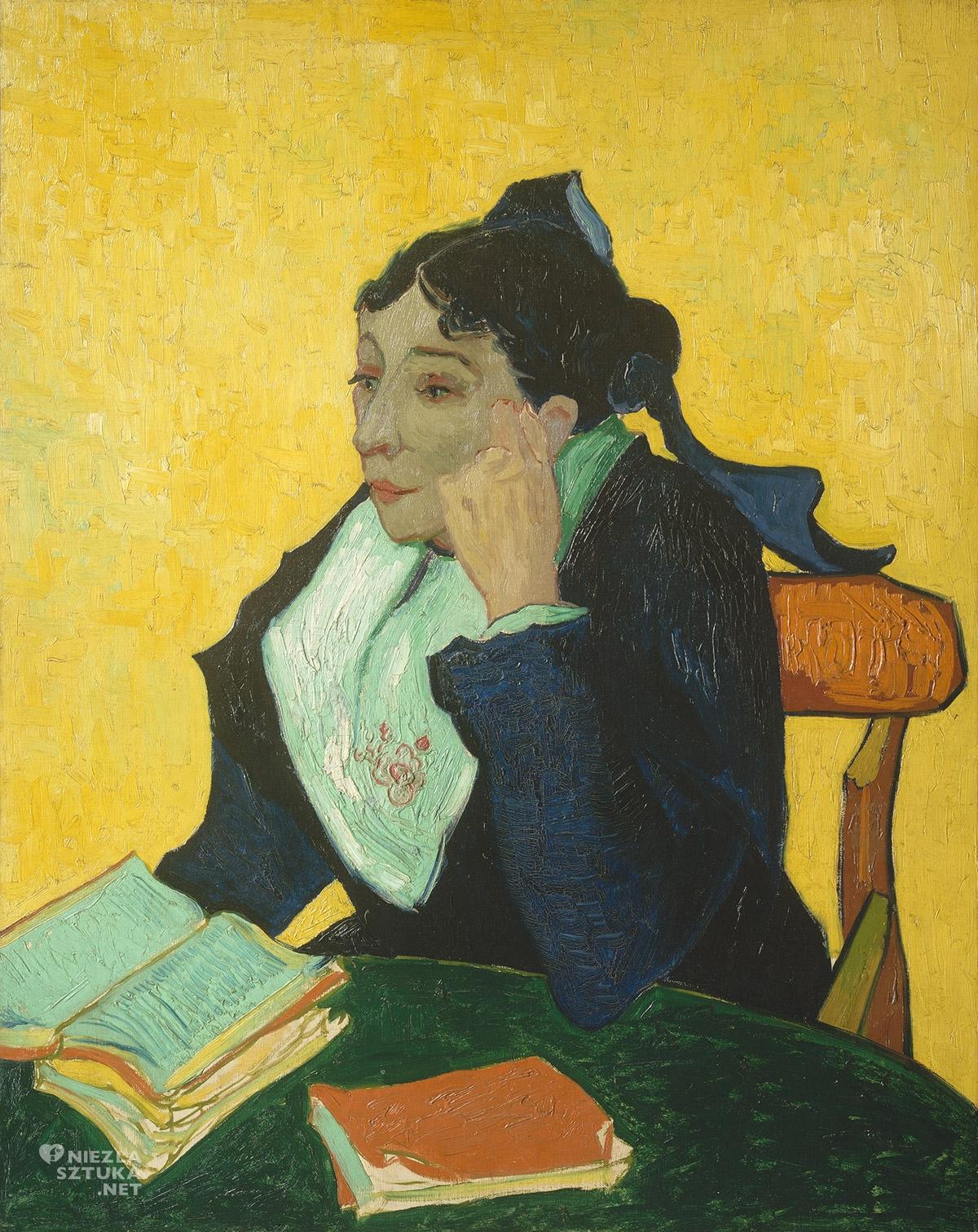Vincent van Gogh, Arlezjanka, Pani Ginoux z ksiązkami, Arles, Niezła Sztuka