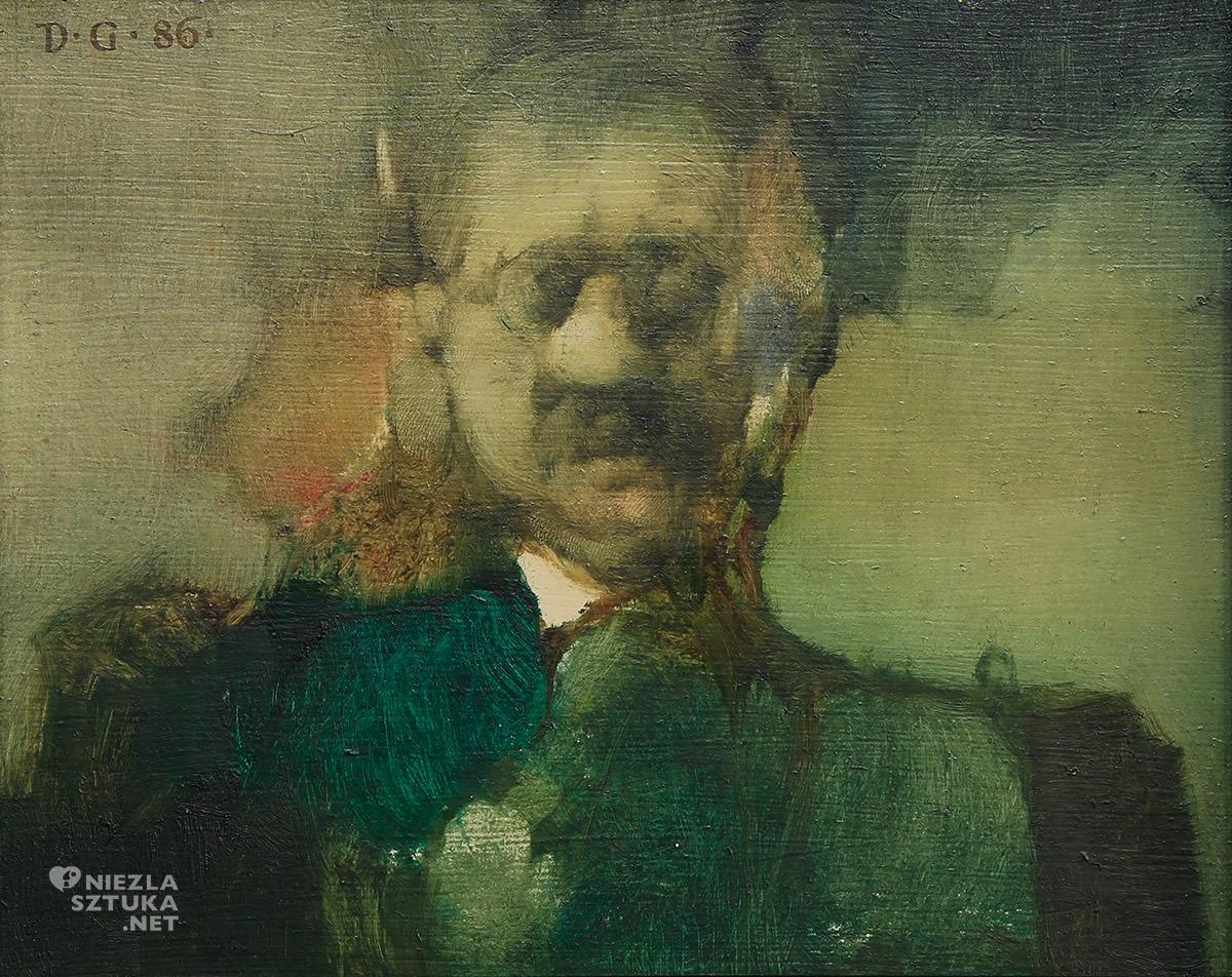 Jerzy Duda-Gracz, autoportret, Narodowy Instytut Fryderyka Chopina, niezła sztuka