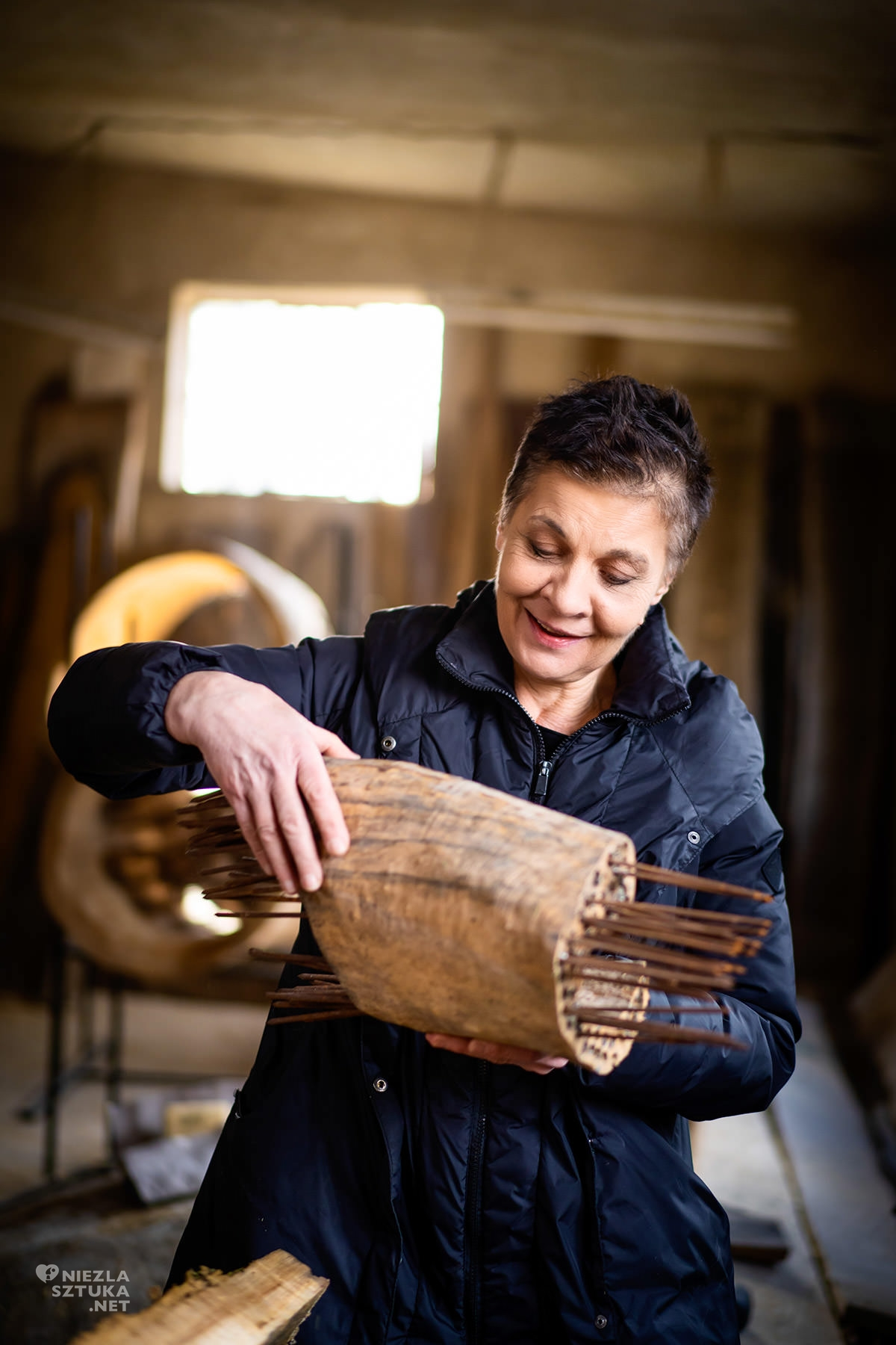 Daniela Krystyna Jałkiewicz, wywiad, rzeźba, tkanina, sztuka polska, kobiety w sztuce, artystka polska, niezła sztuka