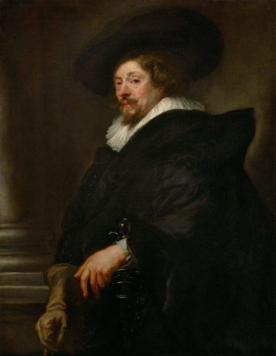 Peter Paul Rubens, Autoportret, malarstwo flamandzkie, niezła sztuka