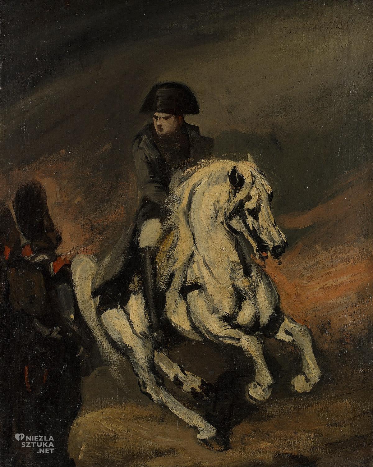 Piotr Michałowski, Napoleon na koniu, malarstwo polskie, sztuka polska, Niezła Sztuka