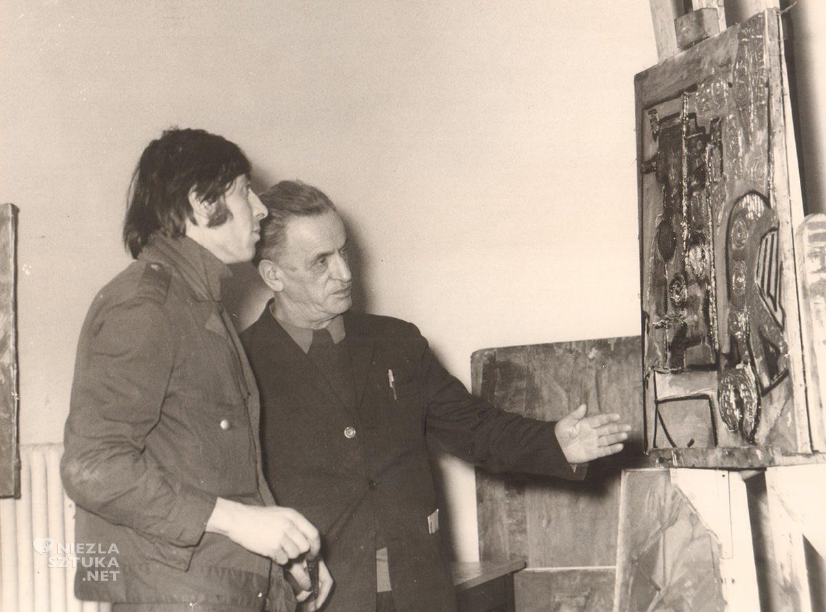 Jonasz Stern, pracownia, ASP, Kraków, archiwum, sztuka polska, Niezła Sztuka